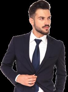 Männermodel mit Bart bei OHH-LALA Haarmoden